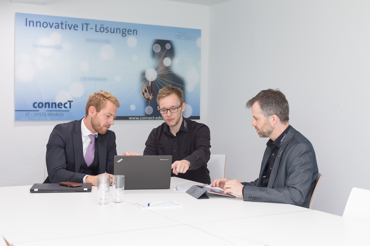 connecT Systemhaus AG Siegen IT-Lösungen Slider